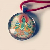 Green Tara Medallion